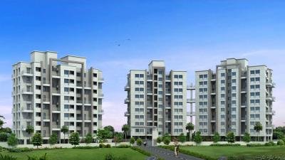 Gallery Cover Image of 625 Sq.ft 1 BHK Apartment for rent in Kingston Elysia, Yewalewadi for 7000