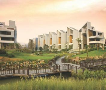 Gallery Cover Image of 1500 Sq.ft 3 BHK Apartment for buy in Rise Resort Residence Villa, Noida Extension for 7600000