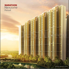 Gallery Cover Image of 850 Sq.ft 2 BHK Apartment for buy in Marathon Nexzone Altis 1, Panvel for 6400000