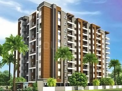 Gallery Cover Image of 600 Sq.ft 1 BHK Apartment for rent in Pristine Aakanksha, Bakori for 7900