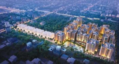 Gallery Cover Image of 828 Sq.ft 2 BHK Apartment for buy in Signum Parkwoods Estate, Mankundu for 2501580