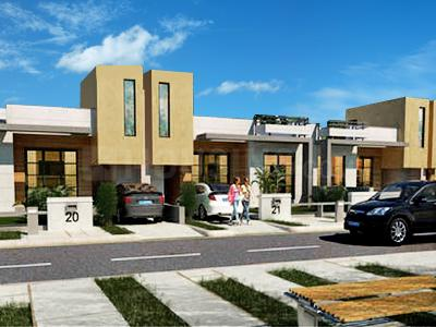 Gallery Cover Image of 1250 Sq.ft 3 BHK Villa for buy in Amgeco Palm City by Amgeco, Jandiali for 3375000