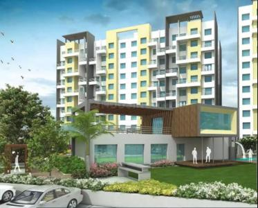 Gallery Cover Image of 1300 Sq.ft 3 BHK Apartment for rent in Silveriio Phase 1, Moshi for 20000