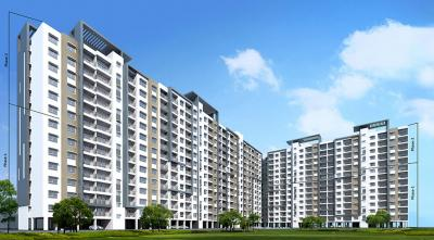 Gallery Cover Image of 1630 Sq.ft 3 BHK Apartment for buy in Adarsh Palm Retreat Mayberry Phase 1, Bellandur for 12200000