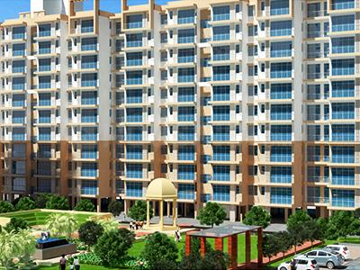 Gallery Cover Image of 414 Sq.ft 1 BHK Apartment for buy in Breez Global Heights, Sector 33, Sohna for 1314000