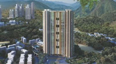 Gallery Cover Image of 670 Sq.ft 1 BHK Apartment for buy in Ram Pushpanjali Residency Phase III, Thane West for 5200000
