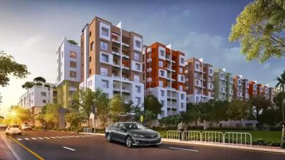 Gallery Cover Image of 756 Sq.ft 3 BHK Apartment for buy in Sugam Homes Urban Lakes Phase I, Serampore for 3082000