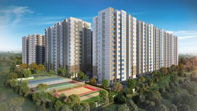 Gallery Cover Image of 618 Sq.ft 1 BHK Apartment for buy in Alliance Galleria Residences, Old Pallavaram for 4700000