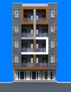 Gallery Cover Image of 900 Sq.ft 3 BHK Apartment for buy in Krishna Homes, Patel Nagar for 4370000