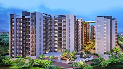Gallery Cover Image of 1057 Sq.ft 2 BHK Apartment for buy in Arvind Skylands, Nehru Nagar for 5655000