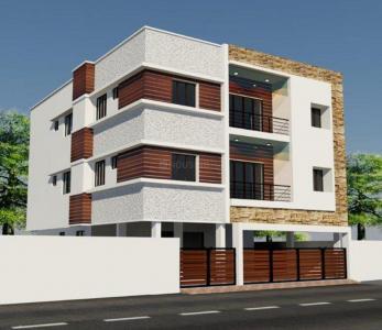 Gallery Cover Image of 1290 Sq.ft 3 BHK Apartment for buy in Green Vilvam, Valasaravakkam for 12000000