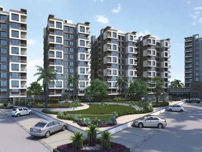 Gallery Cover Image of 2000 Sq.ft 3 BHK Apartment for rent in Pramukh Greens, Chala for 20000
