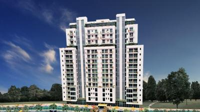 Gallery Cover Image of 725 Sq.ft 1 RK Apartment for buy in SKG The Merlin, Vasundhara for 2999999