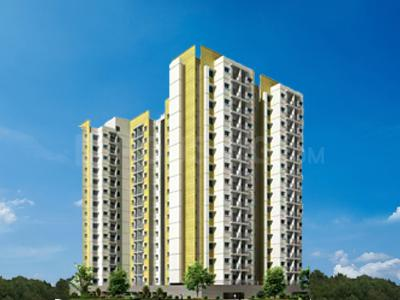 Gallery Cover Image of 1938 Sq.ft 3 BHK Apartment for rent in L&T Eden Park - Peach, Siruseri for 20000