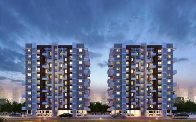 Gallery Cover Image of 1040 Sq.ft 2 BHK Apartment for buy in Laxmi Emerald Phase I, Lohegaon for 5700000