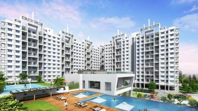 Gallery Cover Image of 1000 Sq.ft 2 BHK Apartment for rent in Goel Ganga Glitz, Undri for 14000