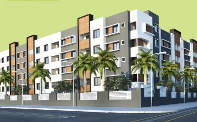 Gallery Cover Image of 627 Sq.ft 2 BHK Apartment for rent in Isha Anandham, Perungalathur for 10000