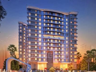 Gallery Cover Image of 650 Sq.ft 1 BHK Apartment for buy in Vardhman Grandeur, Andheri West for 13500000