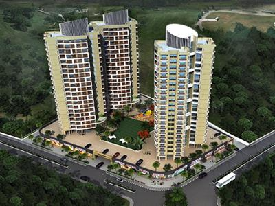 Gallery Cover Image of 903 Sq.ft 2 BHK Apartment for buy in Ajmera New Era Yogi Dham Phase 4, Kalyan West for 8700000