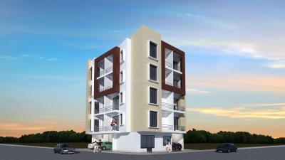 Gallery Cover Image of 825 Sq.ft 1 BHK Independent Floor for rent in Dwarika Apartments, Shahberi for 6500