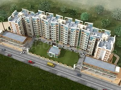 Gallery Cover Image of 350 Sq.ft 1 RK Apartment for rent in Kon Infra Vibrant City, Kongaon for 3500