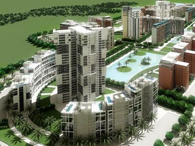 Gallery Cover Image of 243 Sq.ft 1 RK Apartment for buy in Ansal API Aquapolis by Ansal API, Lal Kuan for 2300000