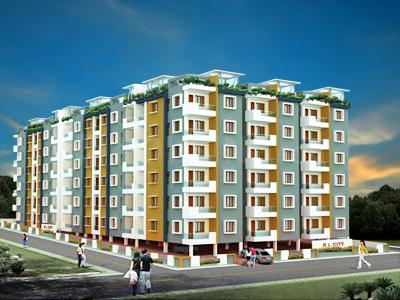Gallery Cover Image of 1245 Sq.ft 2 BHK Apartment for rent in City, Miyapur for 18000