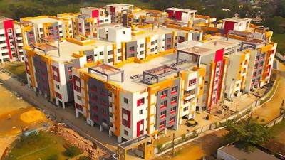 Gallery Cover Image of 971 Sq.ft 2 BHK Apartment for rent in Sugam Serenity, Rajpur Sonarpur for 10000