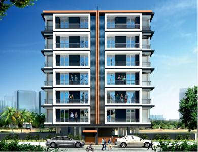 Gallery Cover Image of 553 Sq.ft 1 BHK Apartment for buy in M M Orion Sky, Jakhya for 1630000