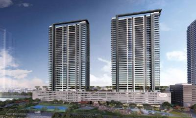 Gallery Cover Image of 1661 Sq.ft 3 BHK Apartment for rent in Ajmera Treon, Wadala East for 110000
