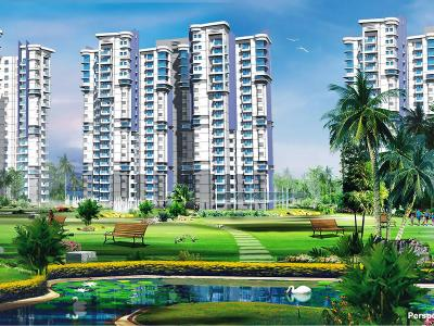 Gallery Cover Image of 2010 Sq.ft 3 BHK Apartment for rent in Omaxe Hills, Sector 41 for 33000