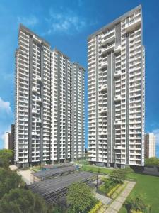 Gallery Cover Image of 1400 Sq.ft 3 BHK Apartment for buy in Rozanne by Courtyard , Thane West for 31500000