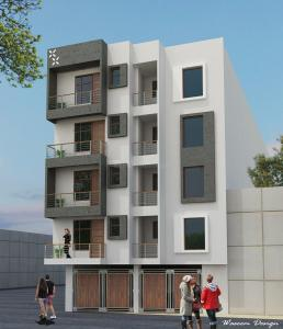 Gallery Cover Image of 650 Sq.ft 1 RK Apartment for rent in Unity Apartments, Mahipalpur for 15500