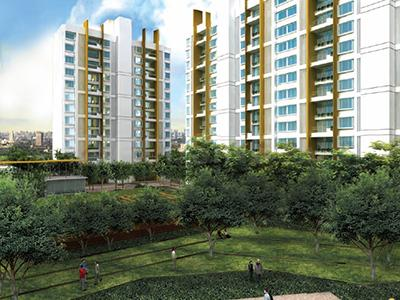 Gallery Cover Image of 1066 Sq.ft 2 BHK Apartment for buy in Elpro The Metropolitan, Chinchwad for 8800000
