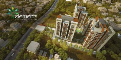 Gallery Cover Image of 974 Sq.ft 3 BHK Apartment for buy in Elements, New Alipore for 8911111