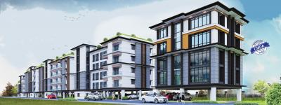 Gallery Cover Image of 1062 Sq.ft 2 BHK Apartment for buy in Indira One North, Perungudi for 10600000