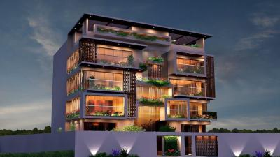 Gallery Cover Image of 2400 Sq.ft 3 BHK Apartment for buy in Redifice Urban Oasis, Cooke Town for 24500000