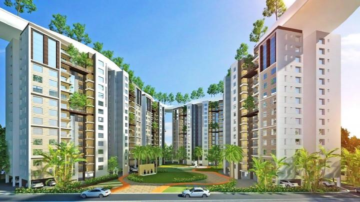 Project Image of 1010 Sq.ft 2 BHK Apartment for buyin New Town for 4095000