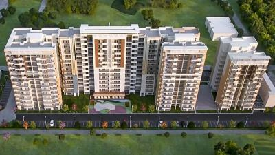 Gallery Cover Image of 750 Sq.ft 1 BHK Apartment for buy in The Eminence, Gazipur for 3100000