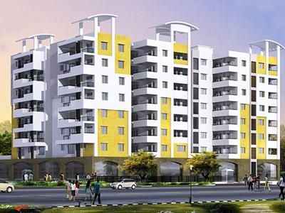 Gallery Cover Image of 1265 Sq.ft 2 BHK Apartment for rent in Raga, Mahadevapura for 32000