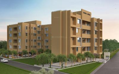 Gallery Cover Image of 538 Sq.ft 1 BHK Apartment for buy in Goel Ganga Antra, Kharadi for 4300000