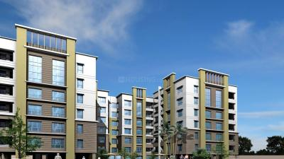 Gallery Cover Image of 1184 Sq.ft 3 BHK Apartment for rent in Aspirations Harmony, Rajarhat for 11000