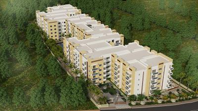 Gallery Cover Image of 1345 Sq.ft 3 BHK Apartment for buy in Sai Platinum Gardenia, Anjanapura Township for 7500000