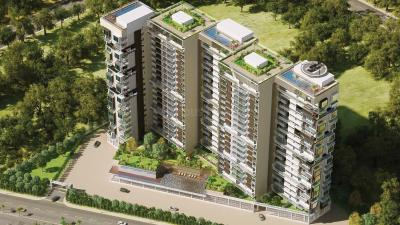 Gallery Cover Image of 1404 Sq.ft 2 BHK Apartment for buy in Unicca Emporis, Madhura Nagar for 9000000
