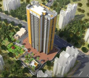 Gallery Cover Image of 1110 Sq.ft 3 BHK Apartment for rent in Vedant Shree Gopinath Sublime, Kalwa for 25000