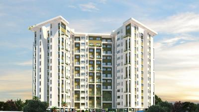 Gallery Cover Image of 568 Sq.ft 1 BHK Apartment for buy in Lushlife Sky Heights, Pisoli for 2950000