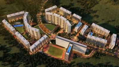 Gallery Cover Image of 1000 Sq.ft 1 BHK Apartment for rent in Strata, Sarkhej- Okaf for 11000