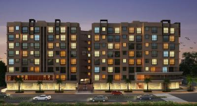 Gallery Cover Image of 615 Sq.ft 1 BHK Apartment for rent in Sunanda Circle A Wing And C Wing Phase II, Khidkali for 10000