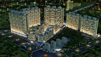 Gallery Cover Image of 565 Sq.ft 1 BHK Apartment for buy in Vihang Valley, Thane West for 5000000