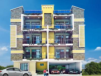 Gallery Cover Image of 550 Sq.ft 2 BHK Apartment for buy in SLV Homes - 8, Govindpuram for 1600000